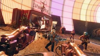 deathloop colt dual wielding guns gameplay