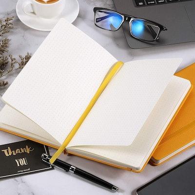 URSUNSHINE Dot Grid Hardcover Notebook