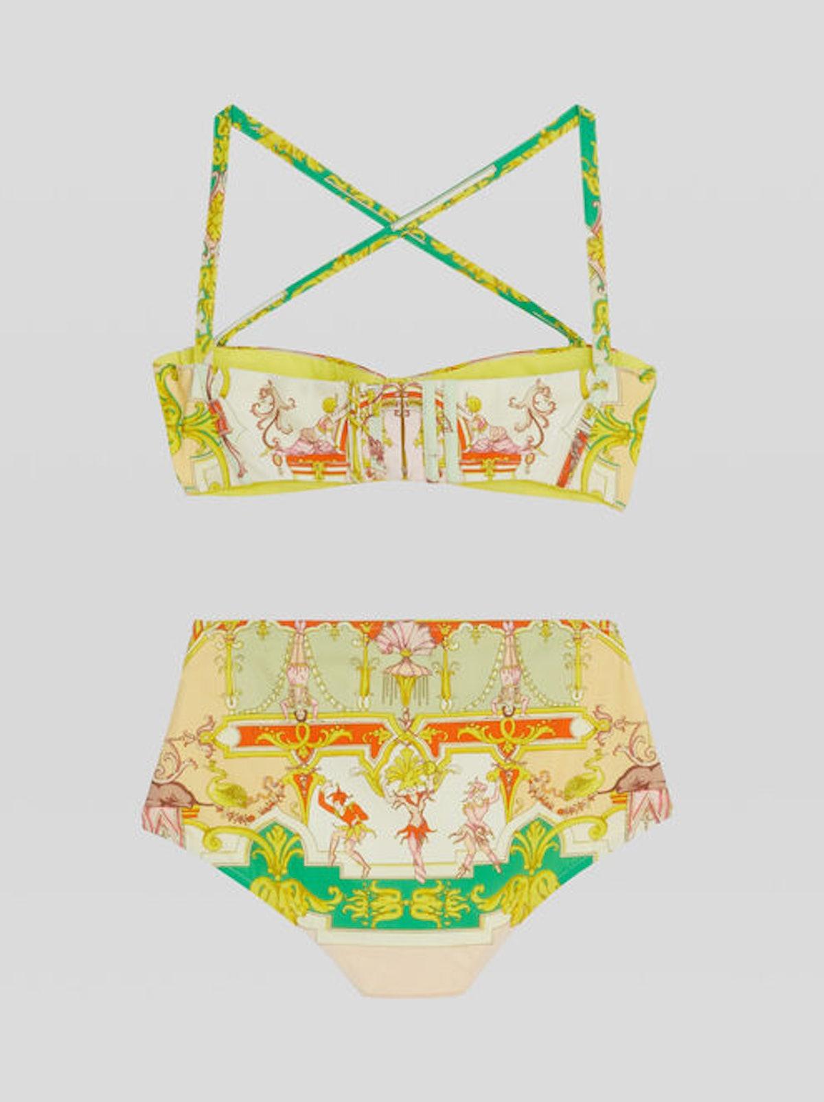 Scarf Print Bikini