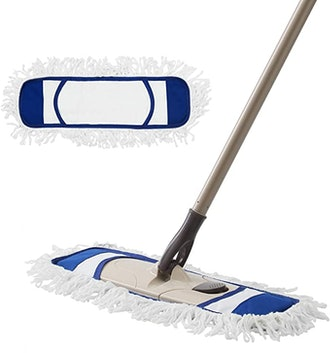 Eyliden Dust Mop with Reusable Pads (2-Count)