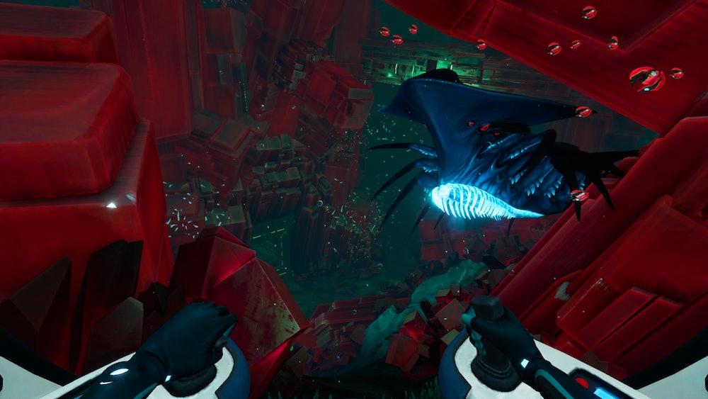 subnautica below zero alien architecture and creature