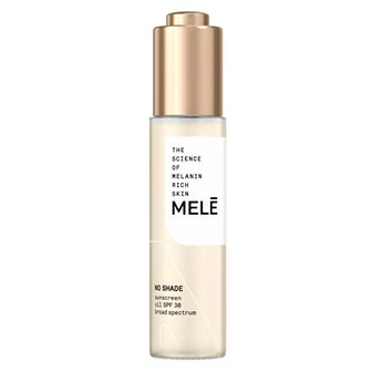 No Shade Sunscreen Oil Broad Spectrum for Melanin Rich Skin