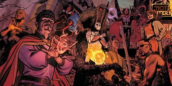 The Midnight Sons in Marvel Comics