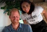 "Meghan Markle wore a ""Raising The Future"" t-shirt."