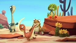 'Gigantosaurus' is one of many shows about dinosaurs kids will love to stream.