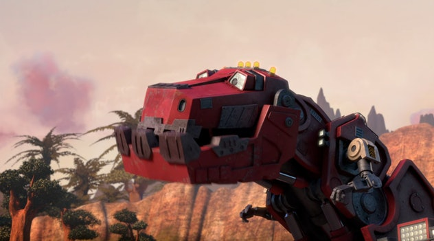 'Dinotrux' is produced by DreamWorks