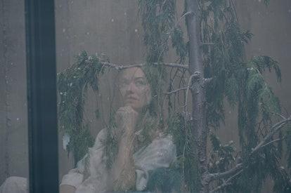 Yvonne Strahovski as Serena Joy in 'The Handmaid's Tale'