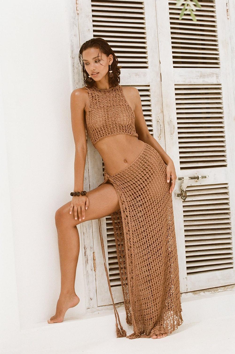Remi Crop Top & Eliana Skirt