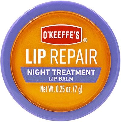 O'Keeffe's Lip Repair Night Treatment Lip Balm (.25 Oz Jar)