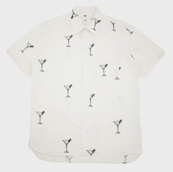 La Paz Alegre Printed Cocktail Shirt