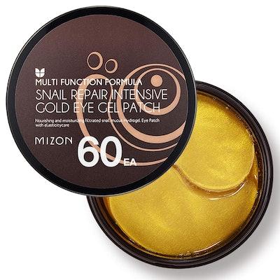 MIZON Under Eye Gel Collagen Patches With 24K Gold & Snail
