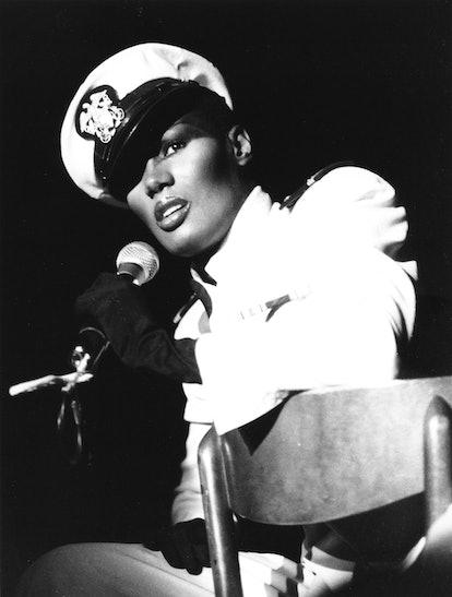 Grace Jones performing in 1979.