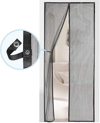 AUGO Magnetic Self Sealing Screen Door
