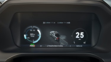 The Ford F-150 Lightning Dashboard