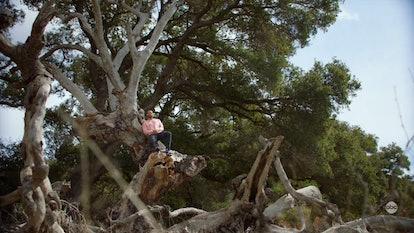 Jackson reconnected with nature in Season 17 of 'Grey's Anatomy.' Screenshot via Hulu