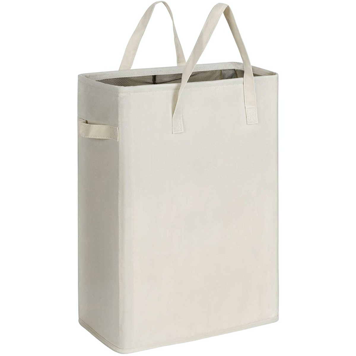 Chrislley Slim Laundry Basket with Handles