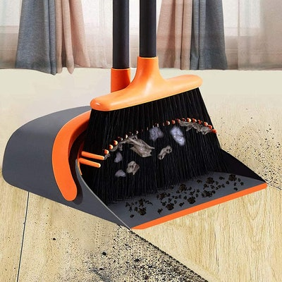 SANGFOR Dustpan and Broom Set