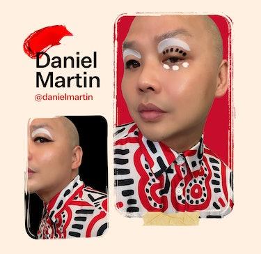Makeup artist Daniel Martin shares a favorite monolid makeup look.