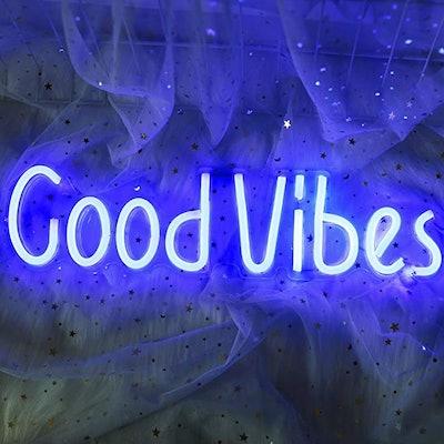 ifreelife Good Vibes Neon Sign