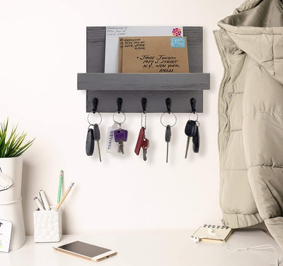 Decorative Key and Mail Holder