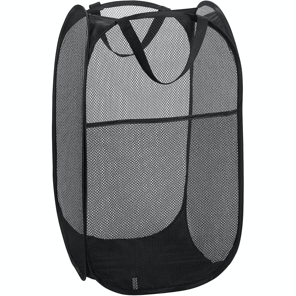 Handy Laundry Mesh Pop-Up Laundry Basket
