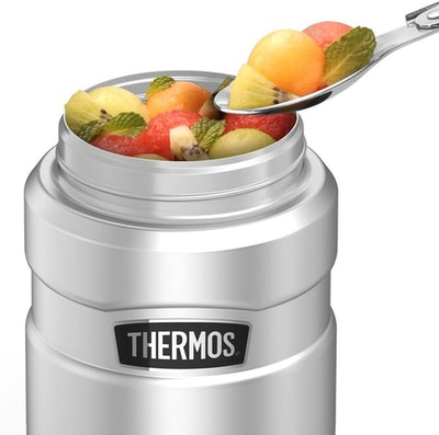THERMOS Stainless King Vacuum-Insulated Food Jar with Spoon