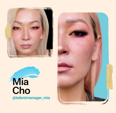 LVL UP Management CEO Mia Cho shares a favorite monolid makeup look.