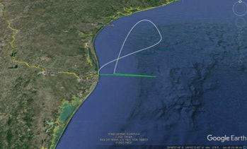 The flight plan for the Super Heavy booster.