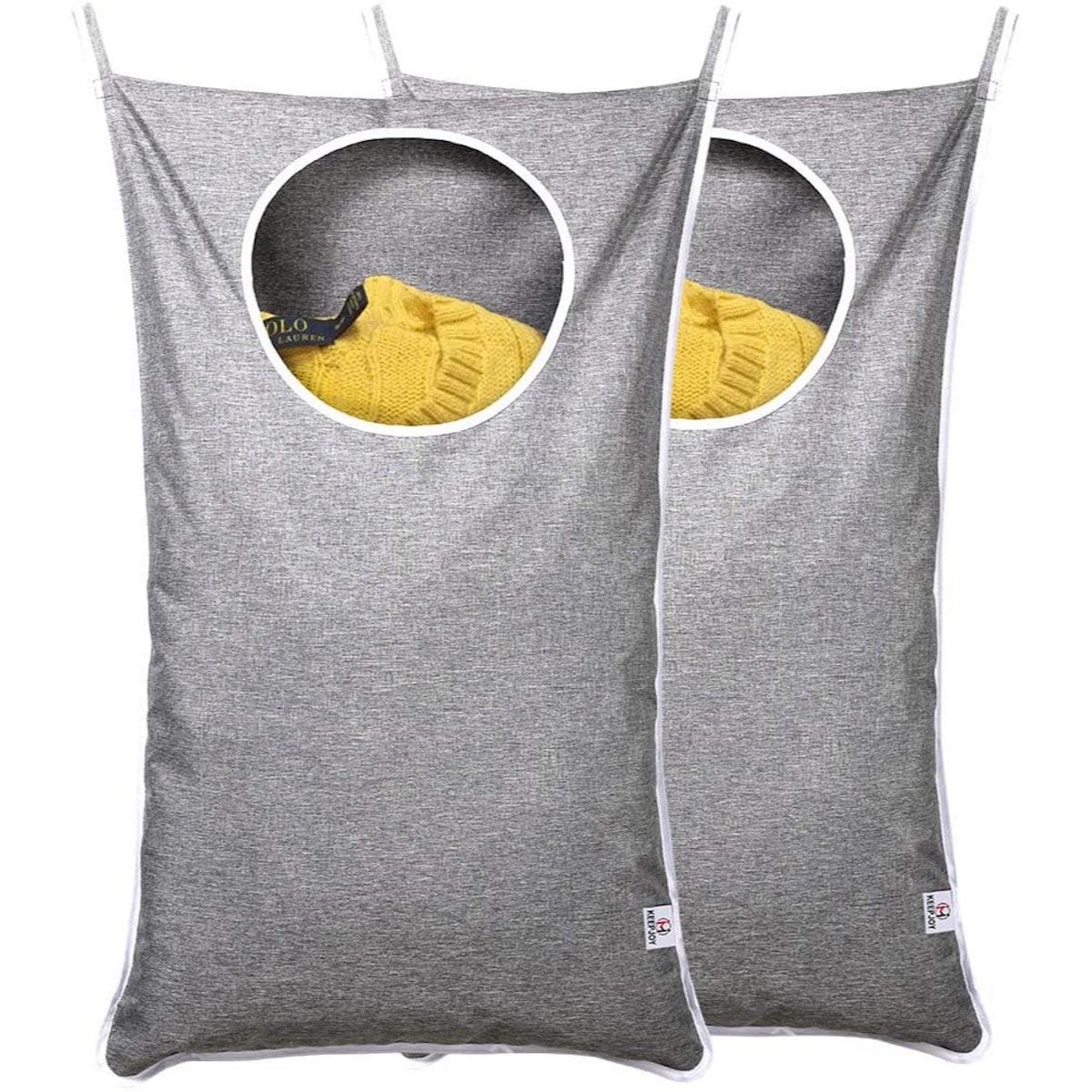 KEEPJOY Hanging Laundry Bag (2-Pack)