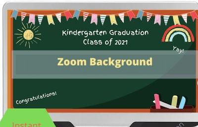 rusticcelebration Kindergarten Zoom Background
