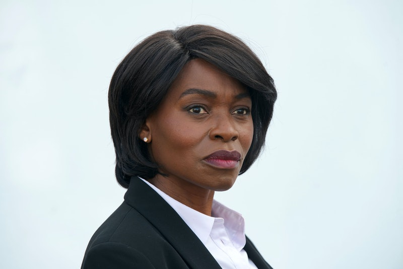 D.S. Holland played by RAKIE AYOLA in BBC's The Pact