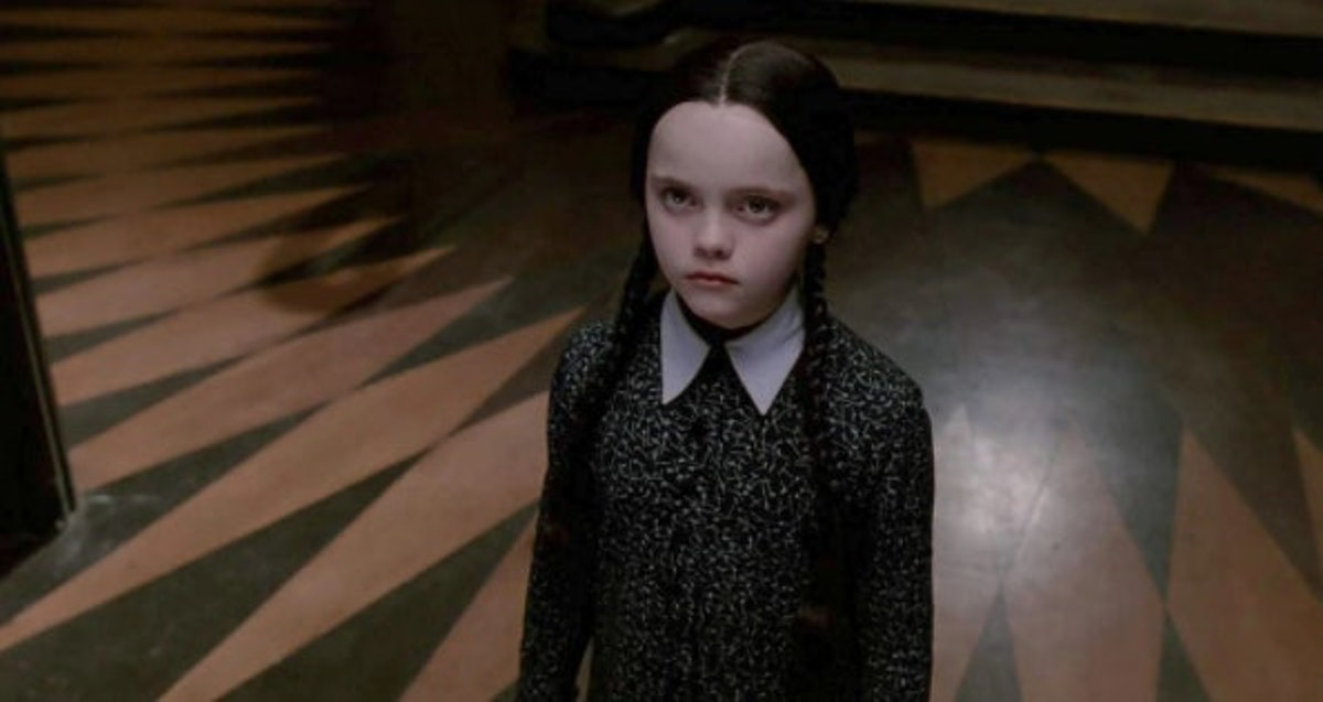 Wednesday Addams in 'The Addams Family'