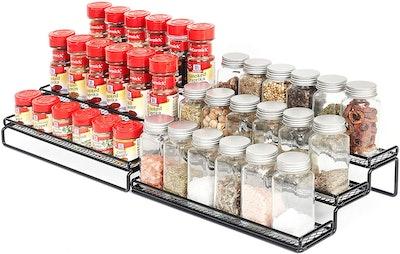 GONGSHI Expandable Cabinet Spice Rack