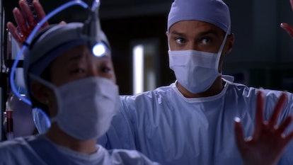 Jackson risked his life many times on 'Grey's Anatomy.' Screenshot via Netflix