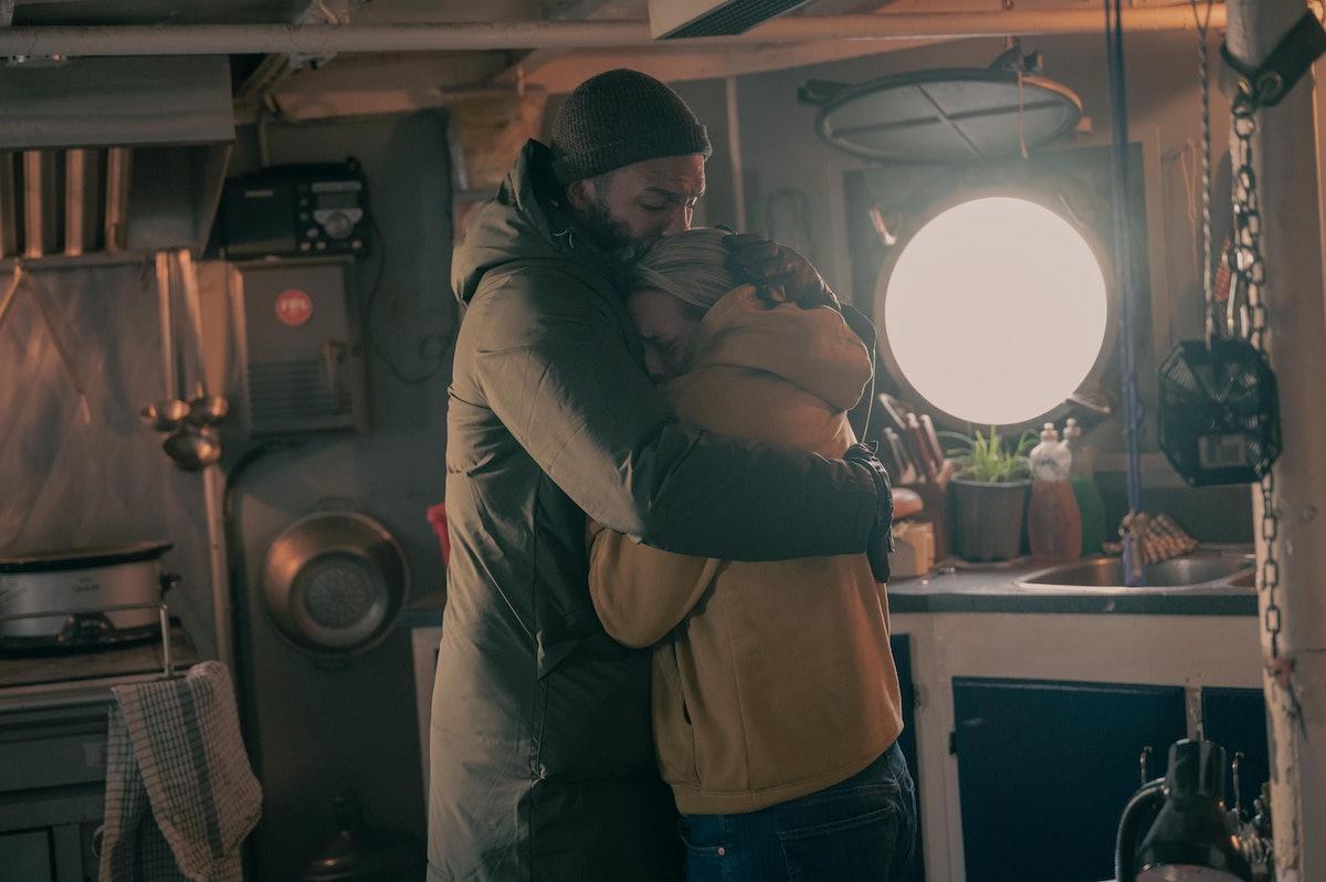 Luke (O-T Fagbenle) and June (Elisabeth Moss) in The Handmaid's Tale Season 4, Episode 7