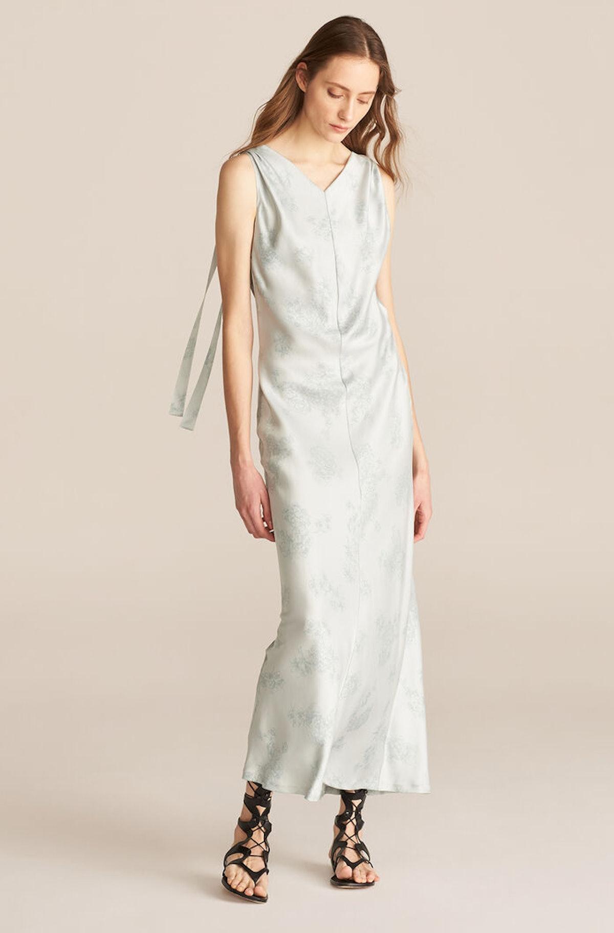 Sleeveless Toile Slip Dress