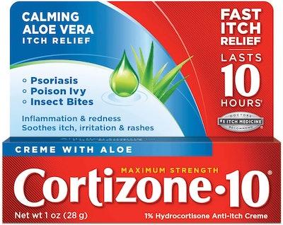 Cortizone-10 Plus Anti-Itch Cream, 1 Oz.