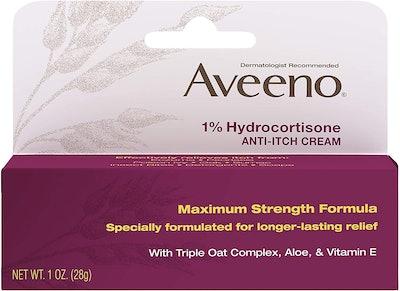Aveeno Maximum Strength Anti-Itch Cream, 1 Oz. (2-Pack)