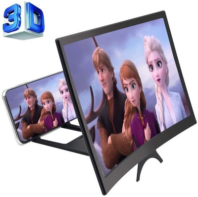 GLISTON 3D Phone Screen Enlarger (12'')
