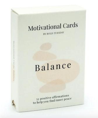 52 Motivational Cards