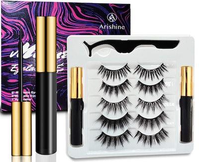 Airshine Magnetic Eyelashes with Eyeliner