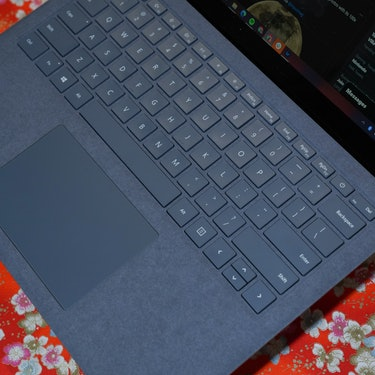 The Surface Laptop 4 keyboard and trackpad are rock solid