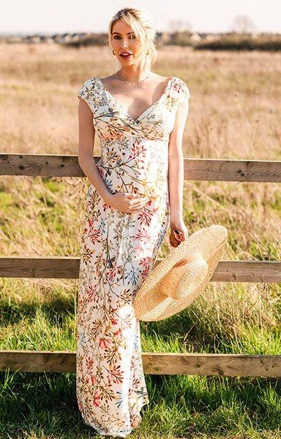 Alana Maxi Dress Watercolour Meadow