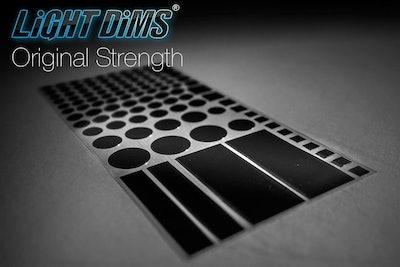 LightDims Light Dimming LED Covers