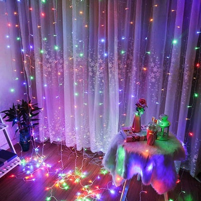 Brightown LED Fairy String Curtain Lights