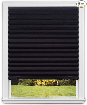 Redi Shade Blackout Pleated Shades (6-Pack)