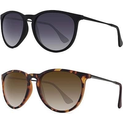 WOWSUN Polarized Sunglasses (2-Pack)