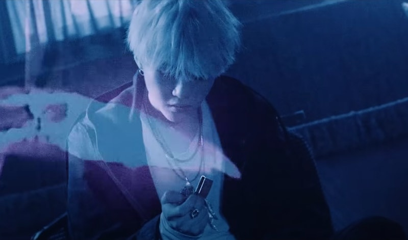 "Agust D (Suga of BTS) in his ""Agust D"" Music Video"