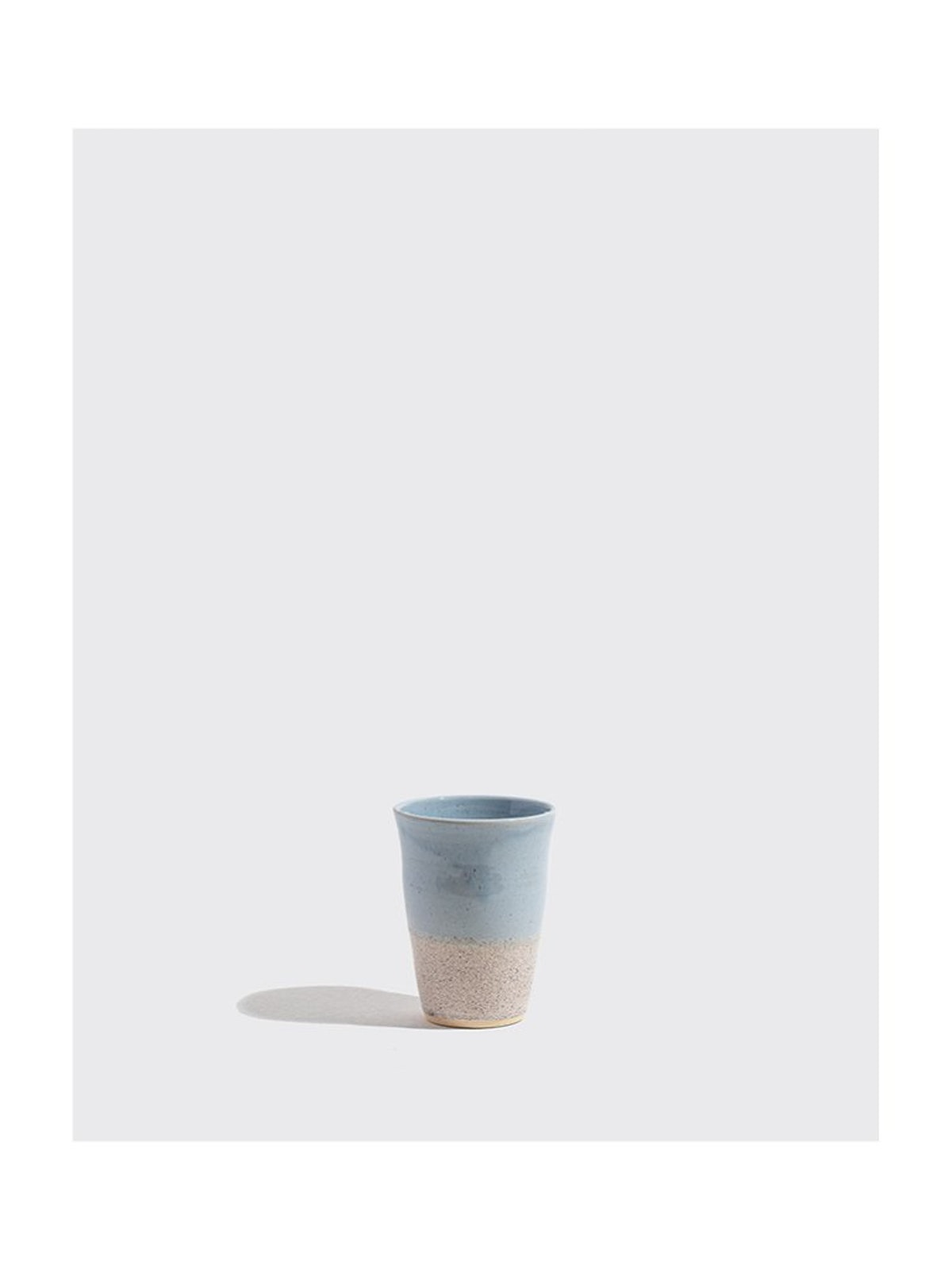 Blue Static Cup