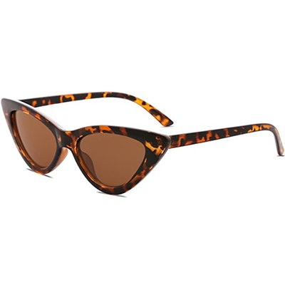 SOJOS Narrow Cat Eye Sunglasses